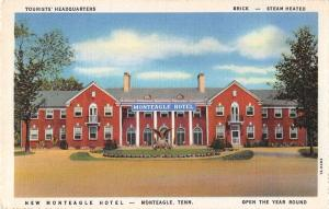 Monteagle Tennessee view of Monteagle Hotel linen antique pc Z21396