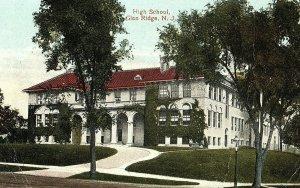 C.1910 High School, Glen Ridge, N. J. Postcard P151