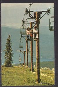 Double Chair Lift,Big Mounatin Ski Resort,ID BIN