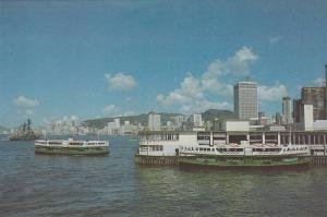 China (Hong Kong) , 50-70s ; Star Ferry