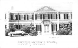 Nashville Tennessee Governors Mansion Real Photo Antique Postcard K18955