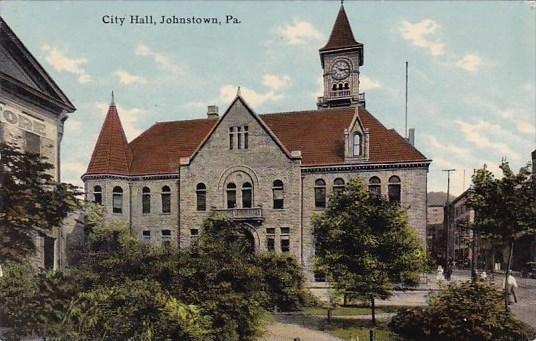 Pennsylvania Johnstown City Hall 1911
