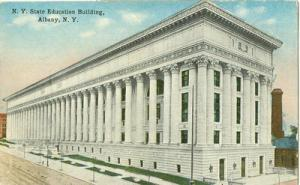 New York State Education Building. Albany New York 1915 u...