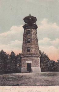 New Hampshire Manchester Weston Observatory 1907