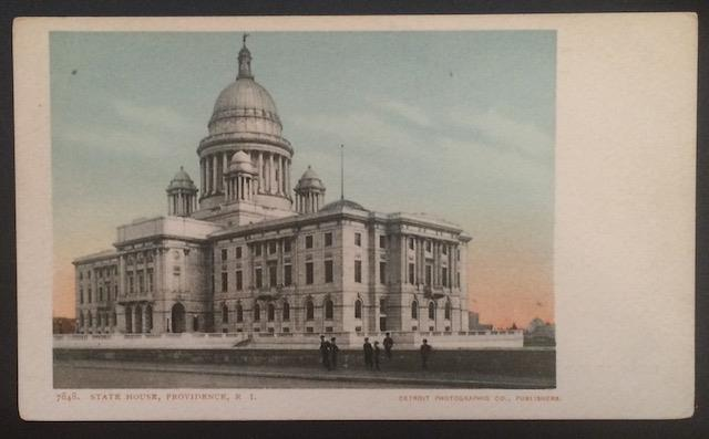 State House, Providence, R.I. Detroit Photographic Co. 7848 UDB