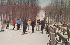 SKIING ; Cadillac Michigan , 1959 ; Caberfae Winter Sports Area