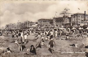 Netherlands Scheveningen Stranleven Real Photo