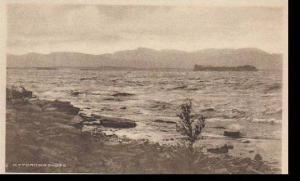 Vermont Burlington Lake Champlain and Juniper Island   Albertype