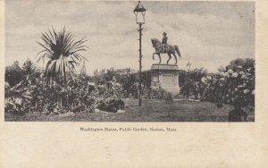 BOSTON, Massachusetts, 1901-07 ; Washington Statue, Public Garden
