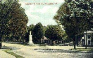 Franklin Street - Brandon, Vermont