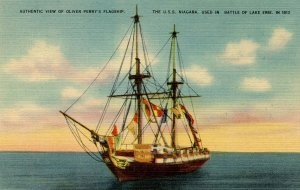 USS Niagara, Oliver Perry's Flagship
