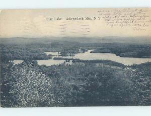 Pre-1907 PANORAMIC VIEW Adirondacks - Star Lake In Clifton New York NY A1017