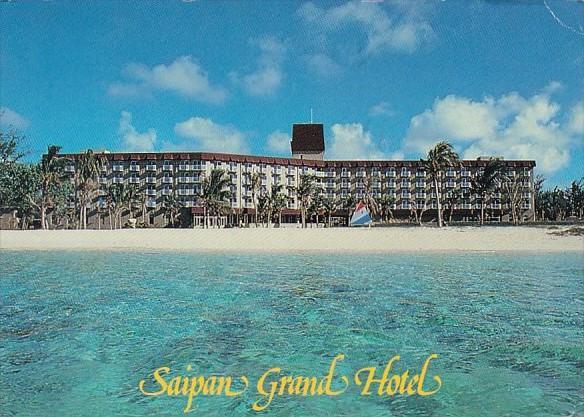 Saipan The Grand Hotel 1979