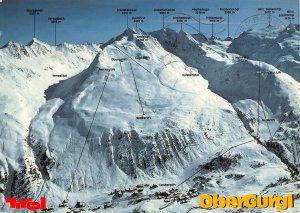 Obergurgl Oetztal Mountain Gipfellift Galsbergtal Verwalltal Postcard
