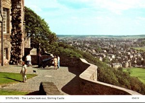 Scotland Stirling The Ladies Look-Out Stirling Castle