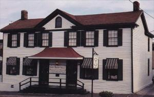 The Becky Thatcher House In Hannibal Missouri