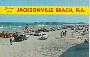 Florida Jacksonville Beach Greetings From 1978