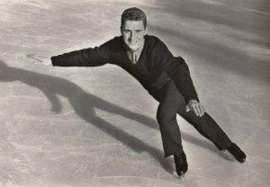 RP: Figure Skater KAROL DIVIN CSSR , 1950-60s