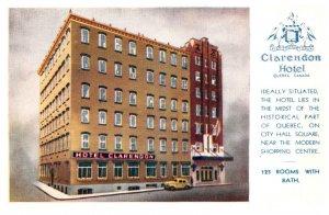 Canada  Quebec Clarendon Hotel