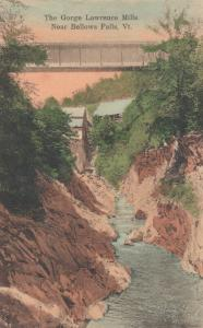 BELLOWS FALLS, Vermont, 1908 ; The Gorge , Lawrence Mills