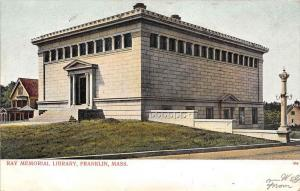 12734    MA Franklin 1904   Ray Memorial Library