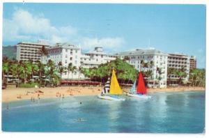 Hawaii Waikiki Hotels Moana Princess Kaiulani Surfrider