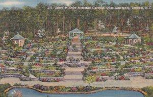 DURHAM , North Carolina , 1948s ; Sarah P. Duke Memorial Gardens, Duke Univer...