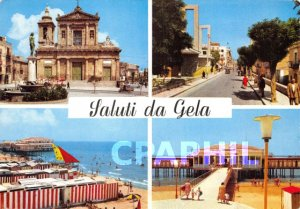 Postcard Modern Saluli da Gela