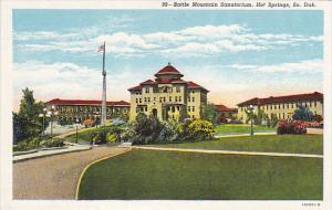 Battle Mountain Sanatorium Hot Springs South Dakota Curteich
