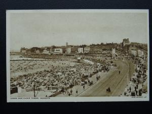 Kent MARGATE Sands & Clock Tower - Old Postcard by A.H.& S. LP