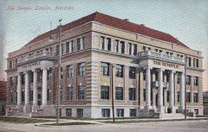 LINCOLN , Nebraska , 1909 ; The Temple