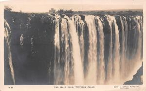 Zimbabwe Rhodesia Victoria Falls, The Main Fall, Waterfall