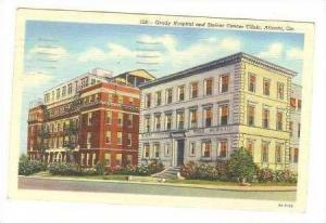 Grady Hospital & Steiner Cancer Clinic, Atlanta, Georgia, 1944