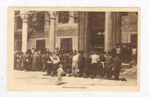 Constantinople, Turkey, 00-10s Musulmans en Priere
