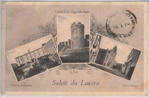 49824  CARTOLINA d'Epoca - FOGGIA provincia : Lucera 1930