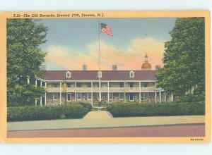 Linen MILITARY SCENE Trenton New Jersey NJ AF8396