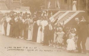 Its Great At Johannesburg Antique Group Party South Africa Real Photo Postcard
