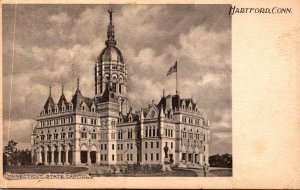 Connecticut Hartford State Capitol Building 1904