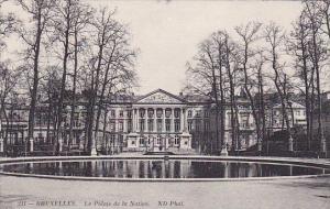 Belgium Brussells Le Palais De La Nation 1913