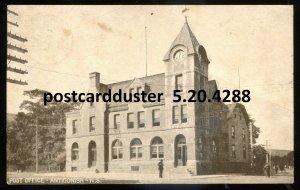 4288 - ANTIGONISH NS Postcard 1911 Post Office by Warwick
