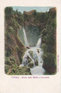 Italy Tivoli Grotta della Sibilla e Cascatelle