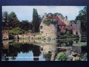 Kent LAMBERHURST Scotney Old Castle c1973 Postcard by J. Salmon
