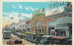 TIJUANA , BC , Mexico , 1920-30s ; Main Street