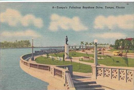 Florida Tampa Tampas Fabulous Bayshore Drive