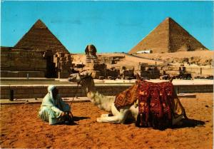 CPM EGYPTE Giza-The Sphinx and the Pyramids-Cheops and Chephren (343773)