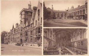 England Oxford Balliol College Multi View