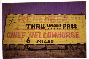 Chief Yellowhorse Sign, Lupton, Arizonia, Terrence Moore