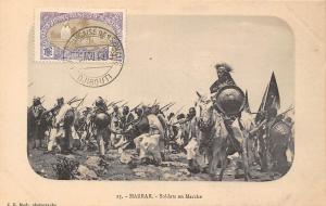 Ethiopia Harrar Soldats en Marche, Soldiers march 1913