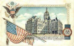 Hartford, Connecticut, CT State Capital, Capitals Postcard Post Card USA  Har...