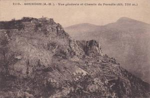 Vue Generale Et Chemin Du Paradis, Gourdon (Alpes Maritimes), France, 1900-1910s